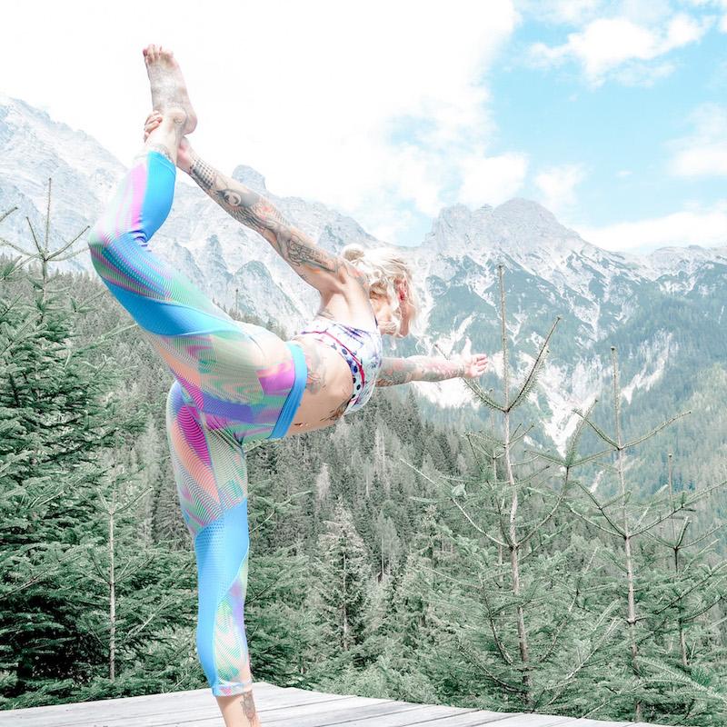 Sarah Kunterbunt Zenspotting Ashtanga Yoga